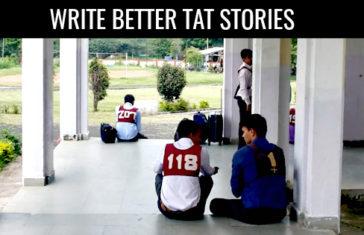 WRITE BETTER TAT STORIES