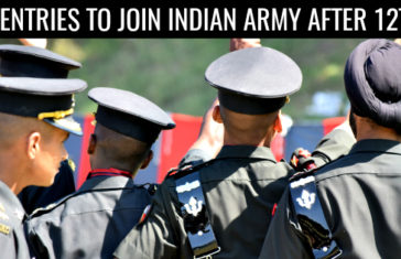 10 ENTRIES TO JOIN INDIAN ARMY AFTER 12TH