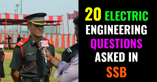 20 ELECTRIC ENGINEERING QUESTIONS ASKED IN SSB