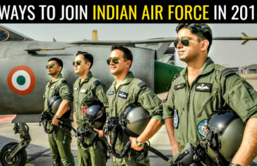 5 WAYS TO JOIN INDIAN AIR FORCE IN 2018