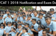 AFCAT 1 2018 Notification and Exam Date