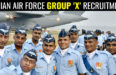 INDIAN AIR FORCE GROUP 'X' RECRUITMENT
