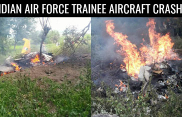 INDIAN AIR FORCE TRAINEE AIRCRAFT CRASHES