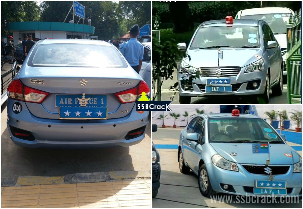 Indian airforce chief cars