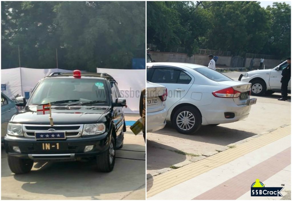 Indian navy chief cars