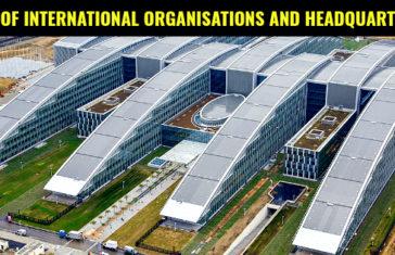 LIST OF INTERNATIONAL ORGANISATIONS AND HEADQUARTERS