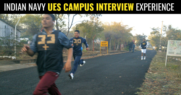NAVY UES CAMPUS INTERVIEW
