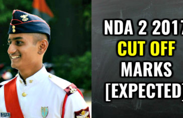 NDA 2 2017 CUT OFF MARKS [EXPECTED]