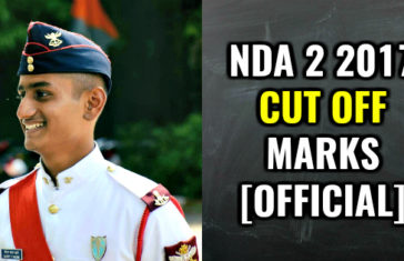 NDA 2 2017 CUT OFF MARKS [OFFICIAL]