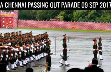 OTA CHENNAI PASSING OUT PARADE 09 SEP 2017