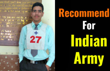 Recommended For Indian Army