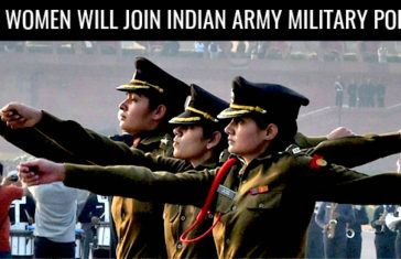 indian military police women