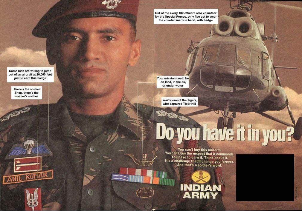 para commando badges