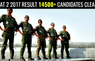 AFCAT 2 2017 RESULT 14500+ CANDIDATES CLEARED
