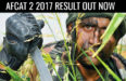 AFCAT 2 2017 RESULT OUT NOW