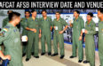 How To Select AFCAT AFSB Interview Date and Venue