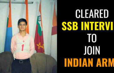 Cleared TES SSB Interview To Join Indian Army