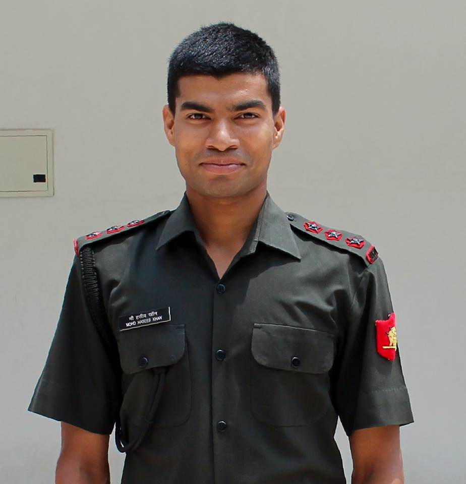 Capt Mohd Haseeb Khan, Jammu and Kashmir Light Infantry