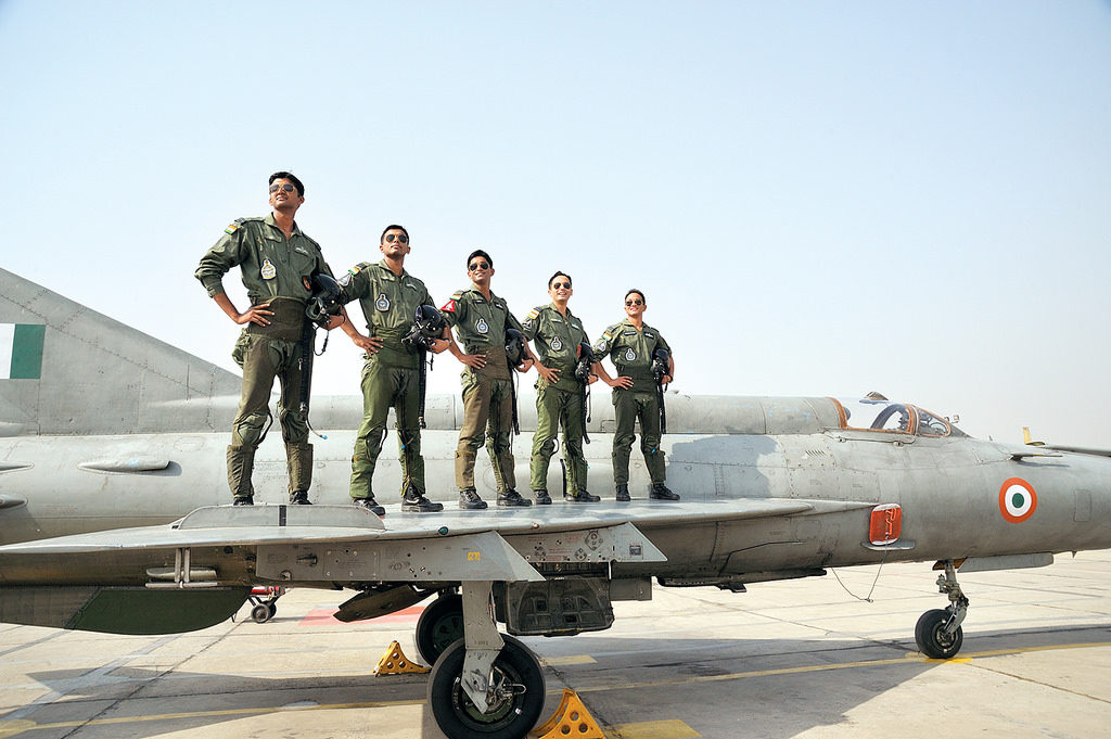 Fighter pilots of IAF