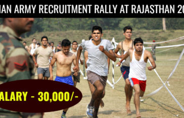 Indian Army Recruitment Rally at Rajasthan 2017