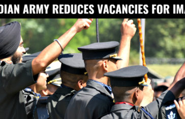 INDIAN ARMY REDUCES VACANCIES FOR IMA