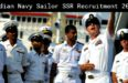 Indian Navy Sailor SSR Recruitment 2017