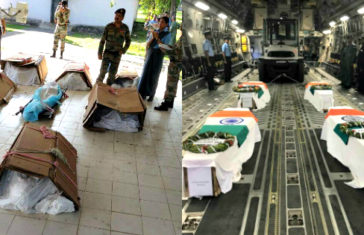 Mi 17 Helicopter Crash Mortal Remains Of Crew [Clarification by MoD]
