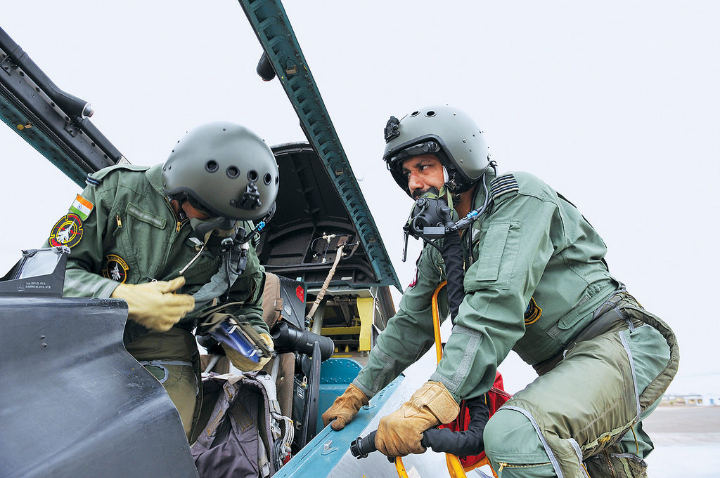 Su 30 MKI fighter pilots