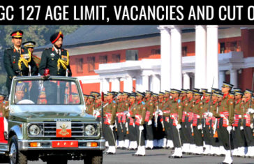 TGC 127 Age Limit, Vacancies and Cut Off