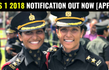 CDS 1 2018 NOTIFICATION OUT NOW [APPLY]