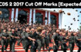 CDS 2 2017 Cut Off Marks [Expected]