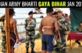 INDIAN ARMY BHARTI GAYA BIHAR JAN 2018