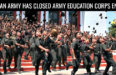 INDIAN ARMY HAS CLOSED ARMY EDUCATION CORPS ENTRY