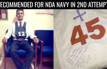 RECOMMENDED FOR NDA NAVY IN 2ND ATTEMPT