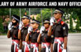 SALARY OF ARMY AIRFORCE AND NAVY OFFICER