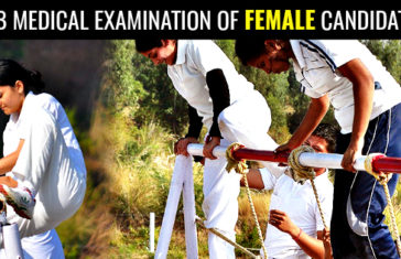 SSB MEDICAL EXAMINATION OF FEMALE CANDIDATES