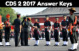 cds 2 2017 answer keys