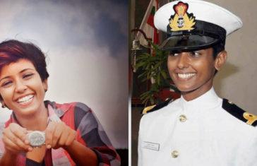 Meet Sub-Lieutenant Shubhangi Swaroop 1st Ever Woman Indian Navy Pilot