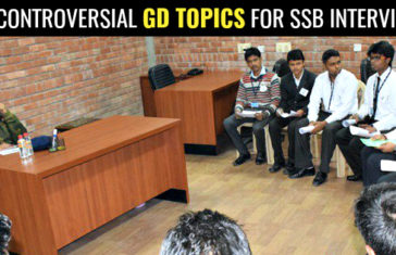 10 CONTROVERSIAL GD TOPICS FOR SSB INTERVIEW