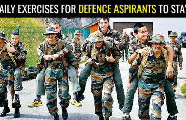 10 DAILY EXERCISES FOR DEFENCE ASPIRANTS TO STAY FIT