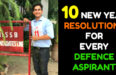 10 NEW YEAR RESOLUTIONS FOR EVERY DEFENCE ASPIRANT