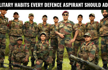 7 MILITARY HABITS EVERY DEFENCE ASPIRANT SHOULD ADOPT