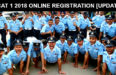 AFCAT 1 2018 ONLINE REGISTRATION [UPDATES]