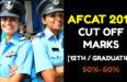 AFCAT 2018 CUT OFF MARKS