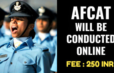 AFCAT WILL BE CONDUCTED ONLINE