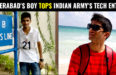 Hyderabad's Vidul Thimanna Tops Indian Army's Technical Entry - AIR 1