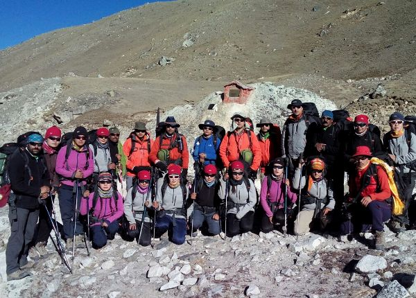 NCC Mountaineering Girls