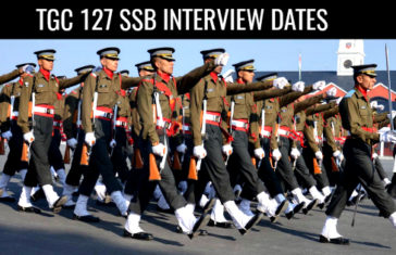 TGC 127 SSB Interview Dates [UPDATED]