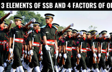 The 3 Elements of SSB and 4 Factors of OLQs [Decoded]