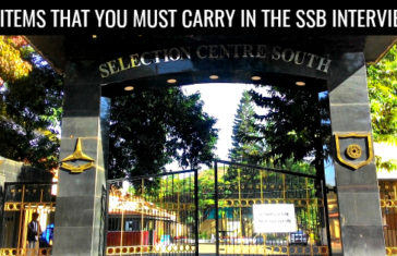 11 ITEMS THAT YOU MUST CARRY IN THE SSB INTERVIEW